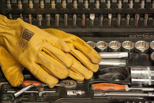 Dobrej jakości rękawice do wykorzystania w pracy