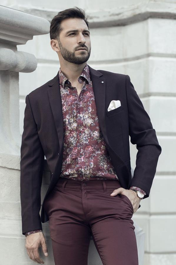 Koszule męskie w kwiaty online